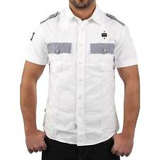 BLAUER USA Men'S Short Sleeve SHIRT shirt in White Size S