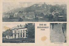 Ak, Gruß aus Deutschneudorf, 1916, (G)(0586)