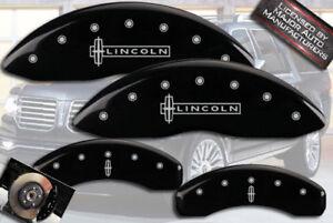 "1998-2002 ""Lincoln"" Navigator Front Rear Black MGP Brake Disc Caliper Cover Star"