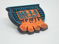 International Bar B Q Festival Bbq Barbecue 1994 Vintage Lapel Pin