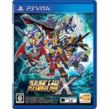Bandai Namco Super Robot Taisen X PS Vita SONY Playstation JAPANESE VERSION