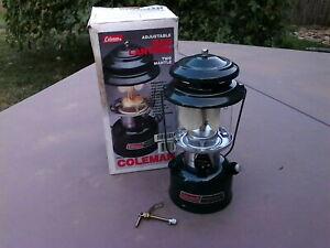 Vintage 8/94 Coleman 288A700 2 Mantle Gas Camp Lantern W/Box NOS