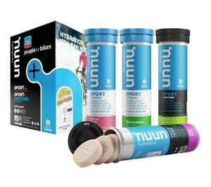 Nuun Sport Clean Hydration Tablets for Sport: Choose from 12 Flavours or Asst'd
