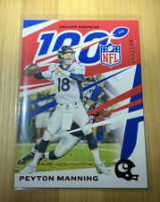2019 Chronicles Peyton Manning 100th Anniversary Red 153/199 #30