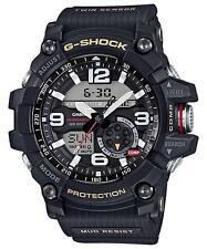 CASIO G-SHOCK MUDMAN, GG1000-1A GG-1000-1A, TWIN SENSOR, ANALOG DIGITAL, BLACK