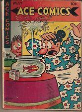 ACE COMICS #110 KING 05/46 NEWSPAPER STRIP REPRINTS BLONDIE PHANTOM+  INCOMPLETE