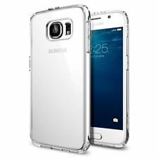 Spigen Galaxy S6 Estuche Ultra híbrido Crystal Clear (PET)