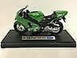 Kawasaki Ninja ZX-12R 2001 Green 1:18 Scale Welly 12167