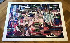 """ADRIAN WONG SHUE """"TRADE WINDS"""" ORIGINAL SERIGRAPH ON PAPER WITH ED#, SIGNED."""