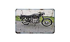 Bmw R60 5 Motorbike A4 photo Retro Bike