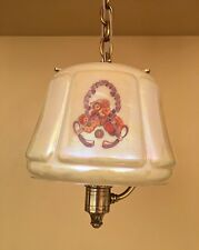 Vintage Lighting extraordinary 1930s pendant by Lightolier