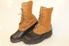 L.L. Bean USA Made Vintage Mens 8 Insulated Maine Hunting Shoes Duck Boots cu
