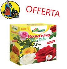 CONCIME PER ROSE GRANULARE ROSAVIVA, 1 KG CON FERRO A BASSO TENORE DI CLORO