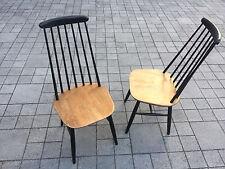 1 of 2 vintage 1950s 1960s Ilmari Tapiovaara Fennet style dining chairs