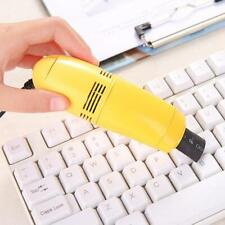 Portable Mini Computer Vaccum USB Keyboard Cleaner PC Laptop Cleaning Brush 2020