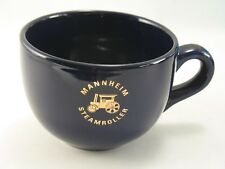 Large Mannheim Steamroller Deep Cobalt Blue Coffee or Soup Mug by M-Ware