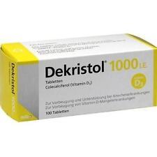 DEKRISTOL 1.000 I.E. Tabletten 100 St PZN 10068950