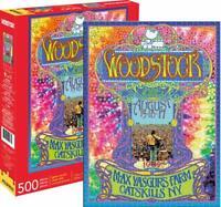 Woodstock Festival Affiche 500 Pièce Puzzle 480mm x 350mm (NM)
