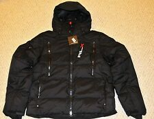 Polo Ralph Lauren RLX Men's, XL, Black, Quilted Down Jacket Coat, Winter, Snow