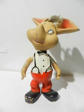 VINTAGE TOY TOPO GIGIO RUBBER DOLL 1970 LOVELY