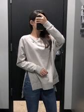 Nike Sportswear Fleece Women's Full ZIp Hoodie Jacket L Pink Volt Black Stripes