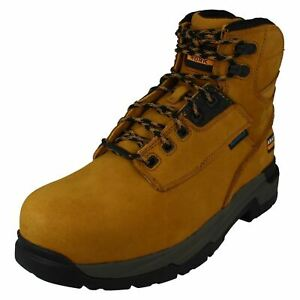 """Mens Ariat MasterGrip 6"""" Composite Toe Leather Safety Boots"""