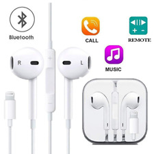 For Iphone 7 8 X  Plus  Lightning Bluetooth Earphone Earbuds Wired Bluetooth
