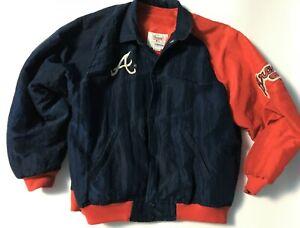Vintage Atlanta Braves Starter Jacket Youth Large Vintage Braves Jacket 90s