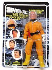 """FIGURES Toy Co. spazio 1999-IL PROFESSOR BERGMAN da sole nero 8"""" Action Figure"""