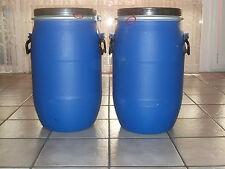 Biete 2x 30 Liter Kanutonne Kanufass Gepäckfass Luft + Wasserdicht Weithalsfass