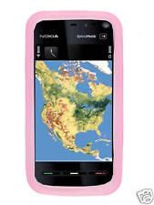 Custodia in silicone rosa per NOKIA 5530 XPRESSMUSIC