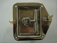 RV/CAMPER/TRAILER DOOR  T- HANDLE - STAINLESS STEEL WITH LOCK/KEY