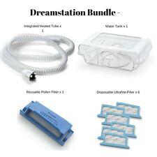 Dreamstation Cpap & BIPAP Supplies Bundle - Heated Tube|Tank|Filters