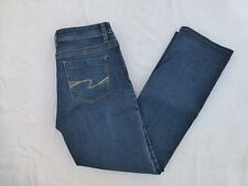 WOMENS LEE PERFECT FIT STRAIGHT JEANS SIZE 12x30 #W1899