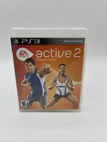 EA Sports Active 2 (Sony PlayStation 3, 2010) Complete with Manual B