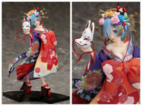 Rem Re:Zero Starting Life In Another World Oiran Kimono 1/7 PVC Figur Figuren NB