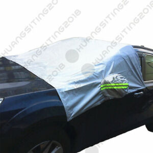Front Windshield Waterproof Window Snow Ice Frost Sun Shade Protector Car Cover