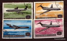 BURUNDI TIMBRES AVION DE LIGNE  AVIATION Scott c51/4    71M39