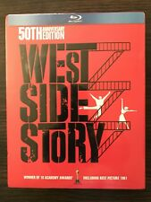 WEST SIDE STORY 50th Anniversary (Blu-ray+DVD+CD, Limited Edition, 4-Disc)