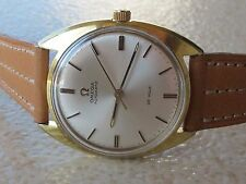 VINTAGE OMEGA DE VILLE AUTOMATIC CAL.552 REF.165.024 S/S&GOLD PLATED MENS 34.5mm