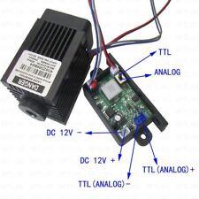 Focusable 2.5W 2500mW 450nm Blue Laser Module TTL + AnAlog signal 12V Engraving