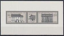 DDR Schwarzdruck Zusammendruck 3118-19 S (W Zd 722)