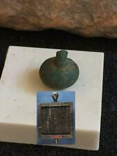 VIKING GAME PIECE of Hnefatafl-900 A.D. found in viking camp
