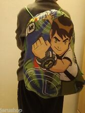 1 New Ben 10 Back bag Children Kid Drawstring  Swimming  Nylon Original backpack