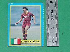 F. DI MAURO ITALIA CALCIO AS ROMA FOOTBALL 1989-1990 VALLARDI MINI CARD PANINI