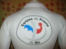 Ancien POLO OW EQUIPES DE FRANCE DE SKI Chemise Equipe Skiing Alpin Fond no ESF