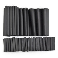 127Pcs Black Weatherproof Heat Shrink Sleeving Tubing Tube Assortment Kit