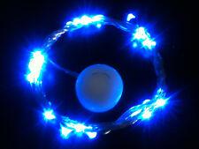 30 LED BLUE CR2032 Battery 3m SW String Light - ON or FLASH MODE UK Seller/Stock
