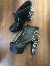 Jeffrey Campbell Spike Boots Goth Fashion Club Designer Instagram Chic