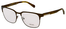 Prada Eyeglasses PR 57UV ROU1O1 56 Brown Frame [56-18-140]